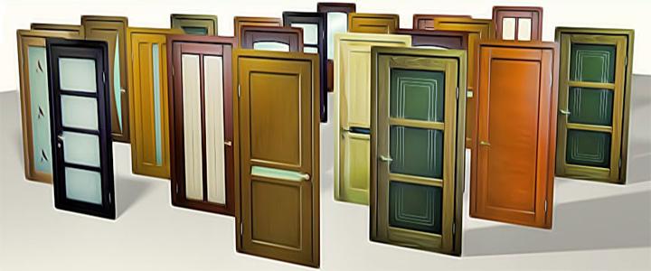 Межкомнатные двери: классификация, материалы