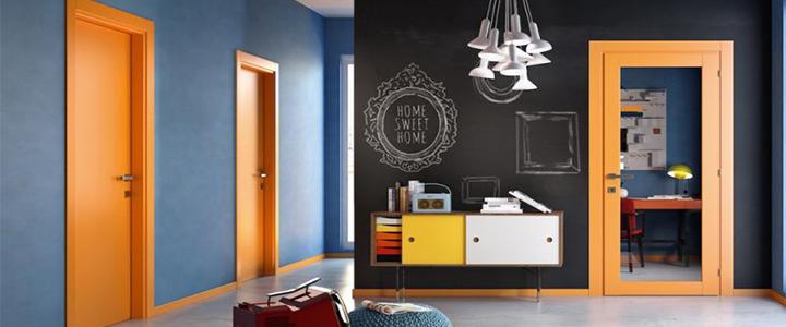 Оригинальный дизайн или как сделать межкомнатную дверь изюминкой интерьера